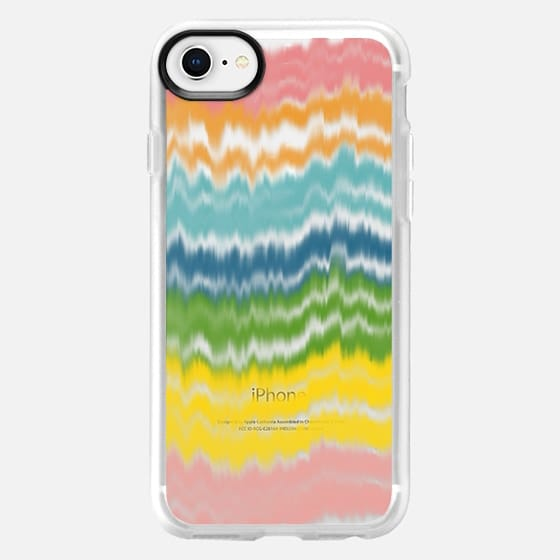 Waves of Color - Snap Case