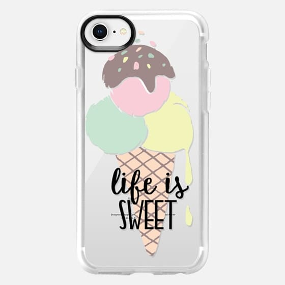 Life is Sweet Ice Cream - Snap Case