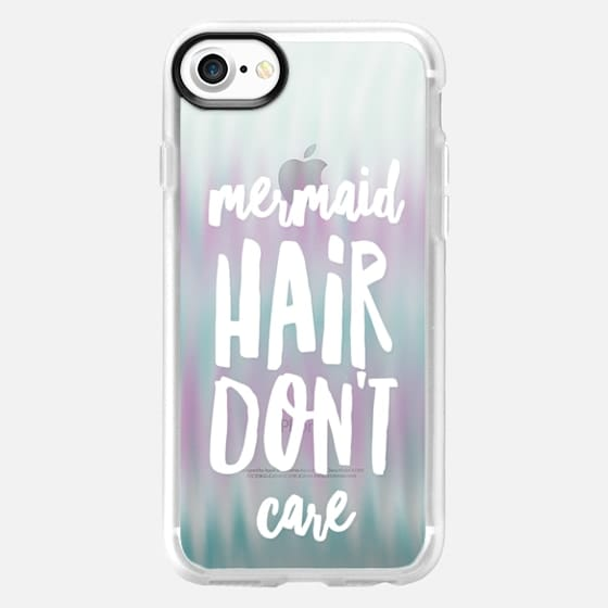 Watered Mermaid Hair - Classic Grip Case