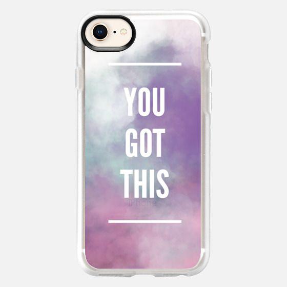 You Got This Grape Raspberry - Snap Case