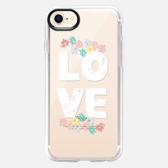 Love Floral - Snap Case