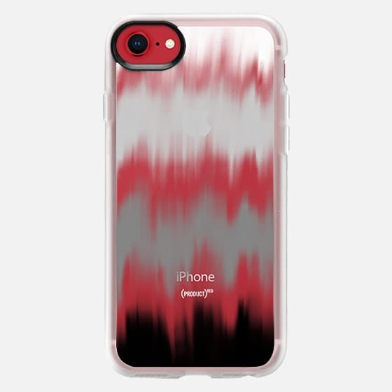 Large Static Waves - Snap Case