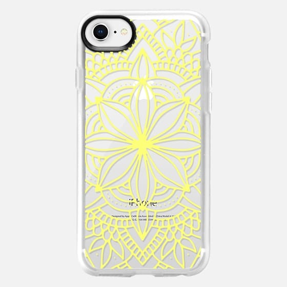 Sunny Mandala - Snap Case