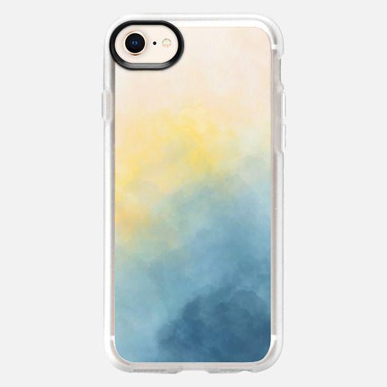 Blue Smokey Sun - Snap Case