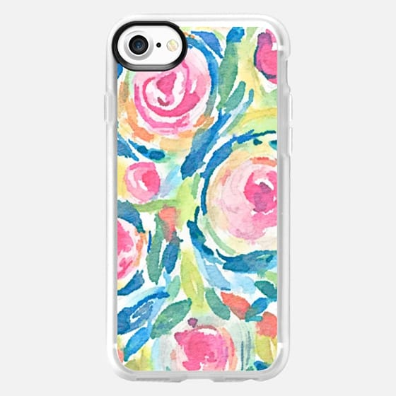 Swirled Flowers - Classic Grip Case