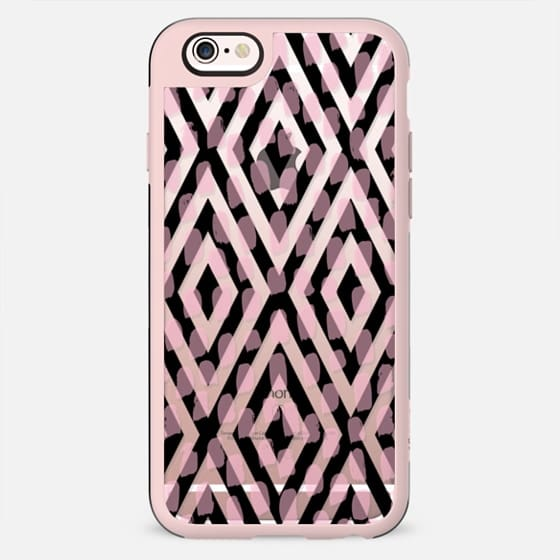 Geo Black Pink Dots - New Standard Case