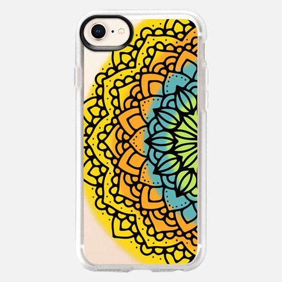 Mandala in Orange - Snap Case