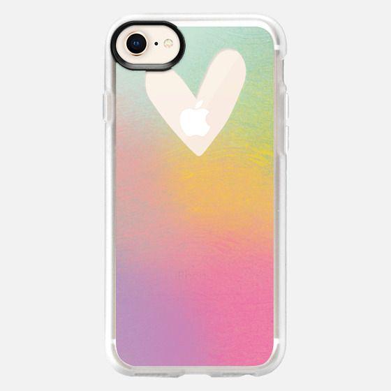 Peek a Boo Heart - Snap Case