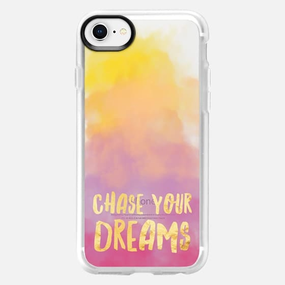 Chase Your Dreams Pastel - Snap Case