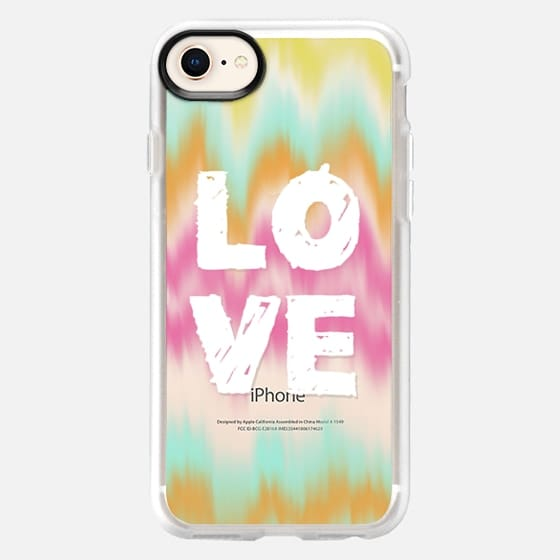 Love and Color Waves - Snap Case
