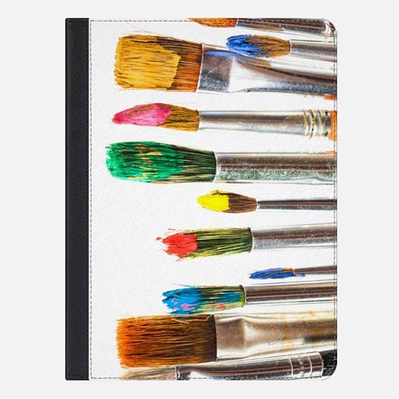 Artist Paint Brush iPad - iPad Folio Case