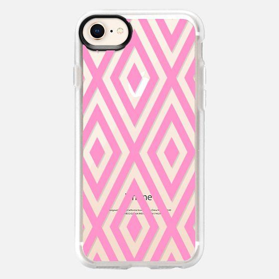 Pink Geo - Snap Case