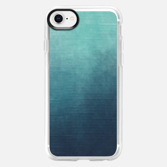 Teal into Blue - Snap Case