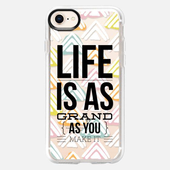 Make a Grand Life - Snap Case