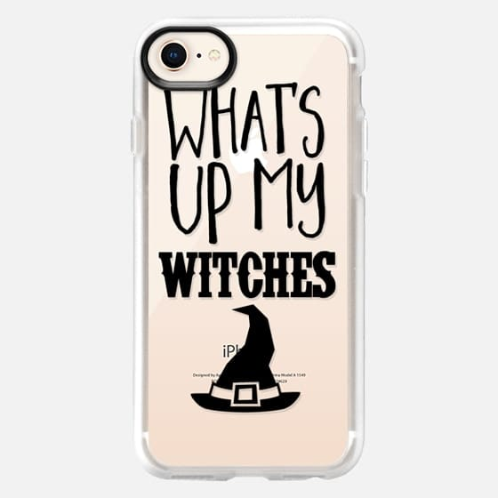 What's UP My Witches Black - Snap Case