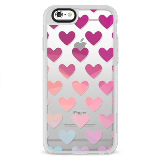 iPhone 7 Cases - Geo Hearts 3