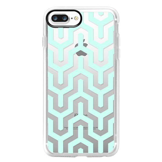iPhone 7 Plus Cases - Light Aqua
