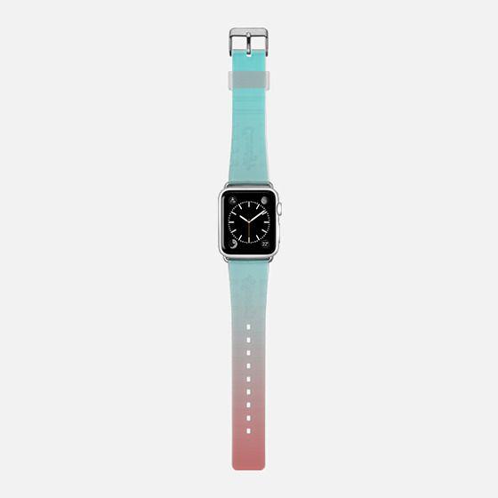 Ombre Pink and Aqua -