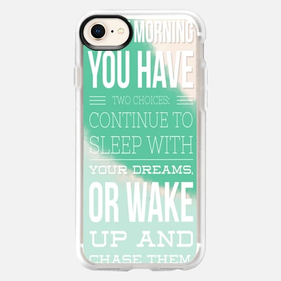 Chase Your Dreams Mint - Snap Case