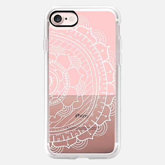 Light Pink Color Block Mandala -