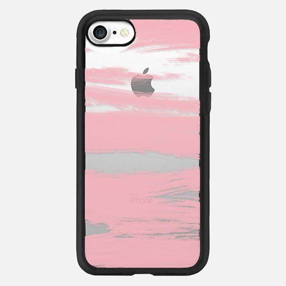 Pink Paint Stripes