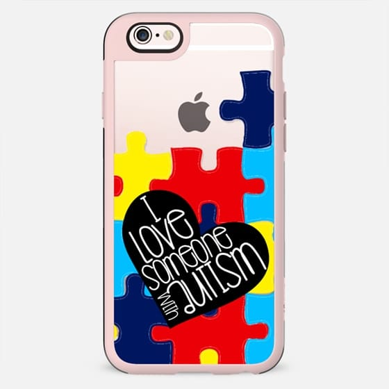 I Love Someone With Autism  - New Standard Case