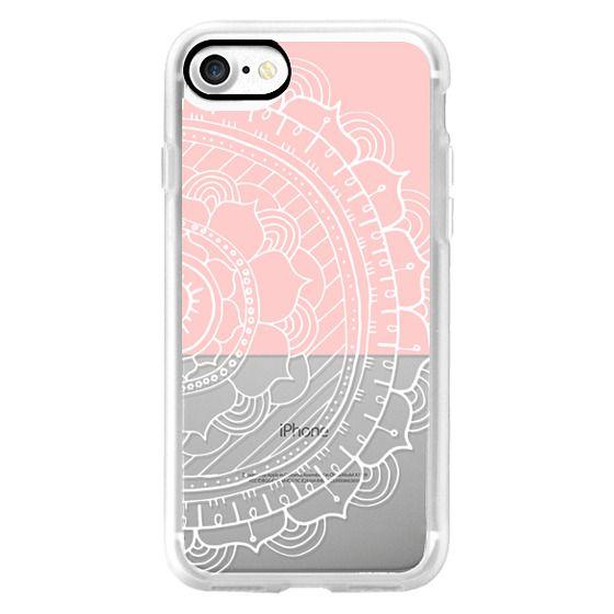 Light Pink Color Block Mandala