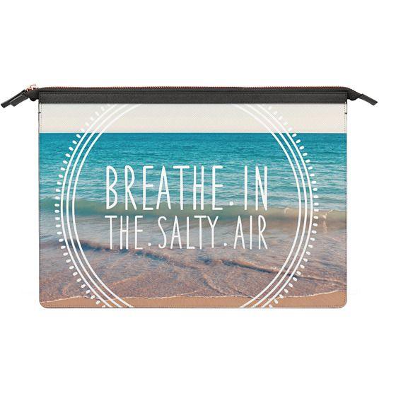 MacBook Pro 13 Sleeves - Breathe In The Salty Air Beach