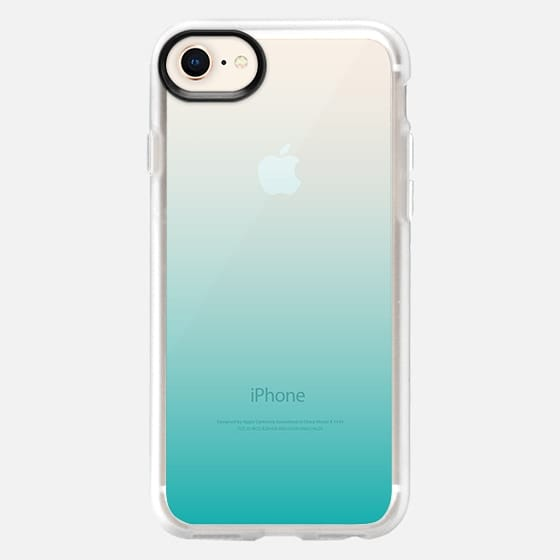 Teal Ombre - Snap Case