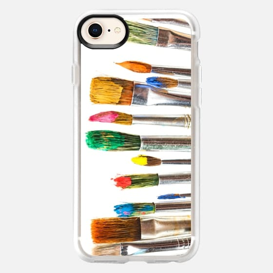 Artist Paint Brush - Snap Case