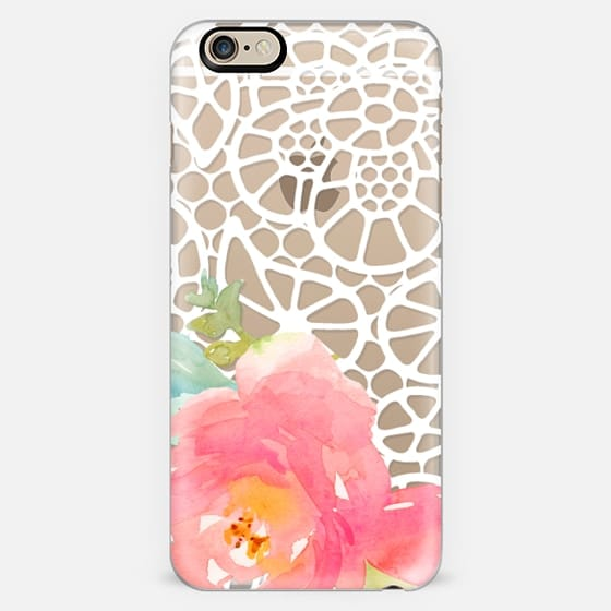 Floral and Doily Lace -