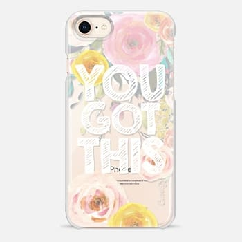iPhone 8 Case You Got This Watercolor Floral 2