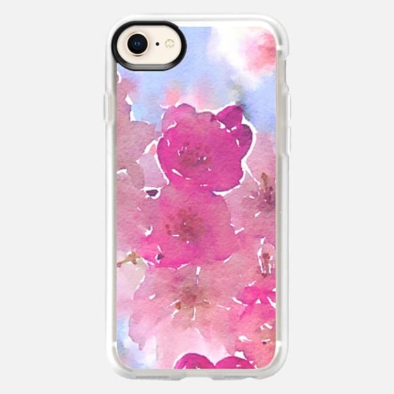 Pink Spring Blossoms 2 - Snap Case