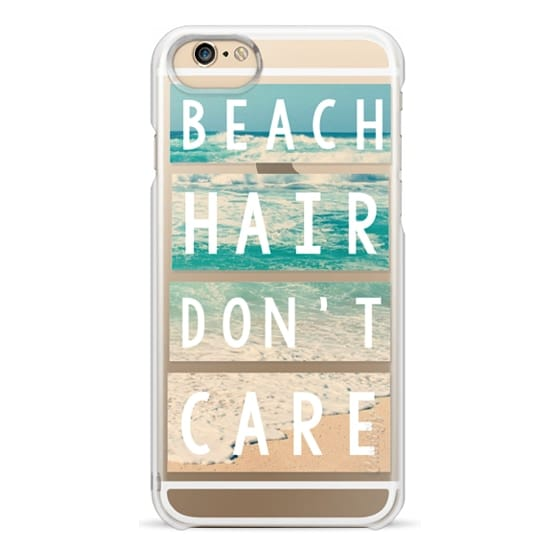 iPhone 6s Cases - Beach Hair Don't Care Block