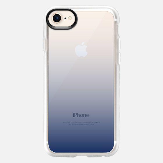 Navy Blue Ombre - Snap Case