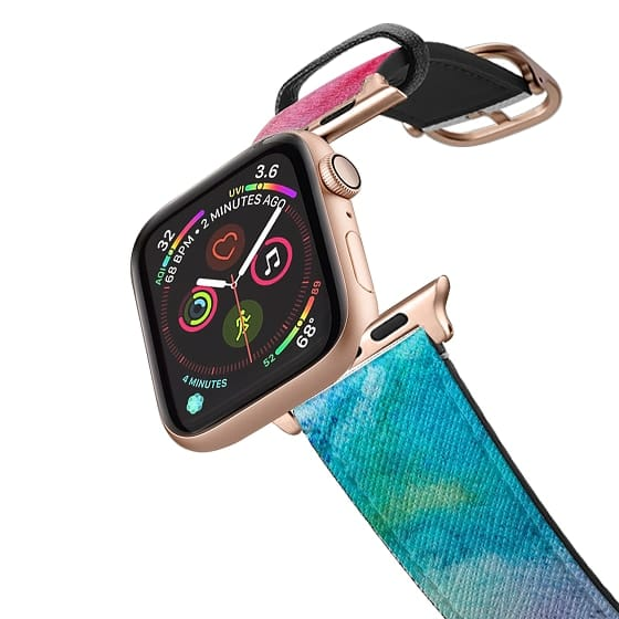 Apple Watch 42mm Bands - Bright Watercolor Paint