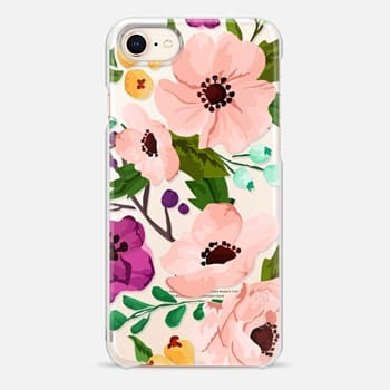iPhone 8 ケース Fancy Floral 3