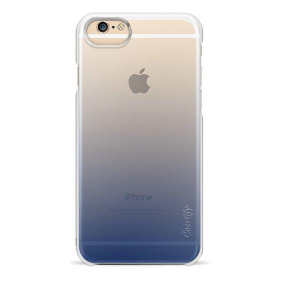 hot sale online 25ce5 bc095 Wood iPhone 6 Case - Navy Blue Ombre