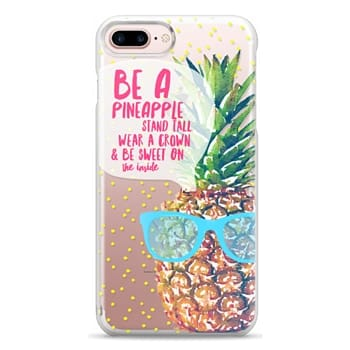 Snap iPhone 7 Plus Case - Be A Pineapple 1