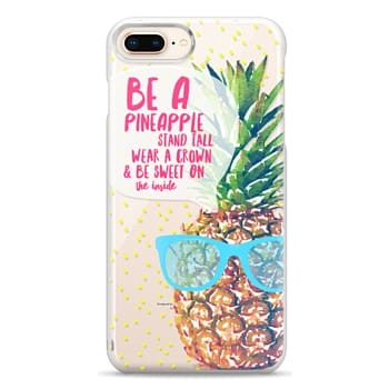 Snap iPhone 8 Plus Case - Be A Pineapple 1