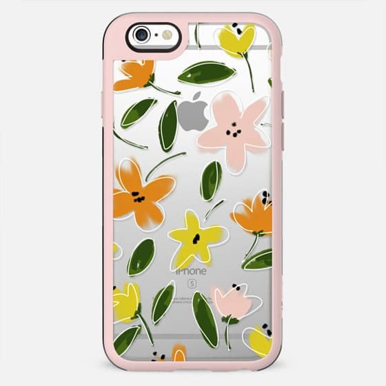 Summer Wildflower Doodles - New Standard Case