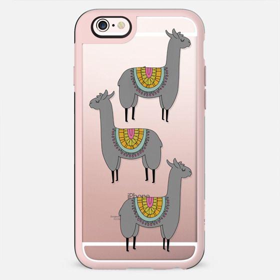 Llama Love   Dark Gray - New Standard Case