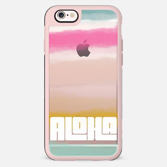 ALOHA | Watercolor Sunset Stripes - New Standard Case