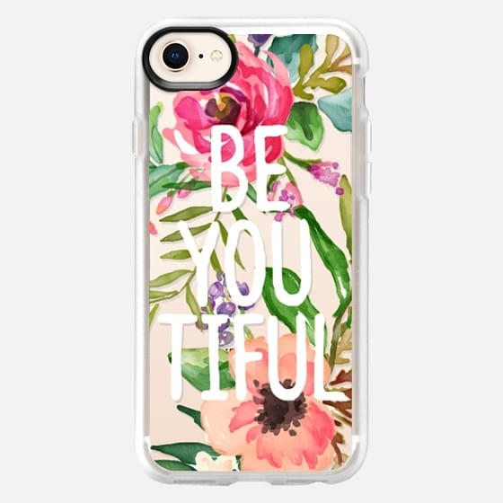 Be YOU Tiful Watercolor Floral - Snap Case