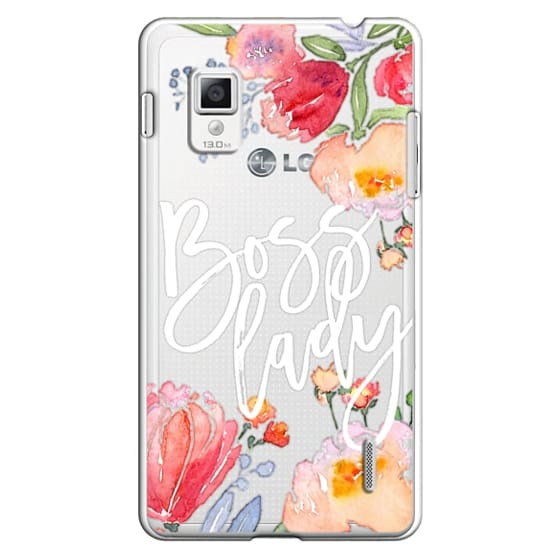 Boss Lady Watercolor Floral
