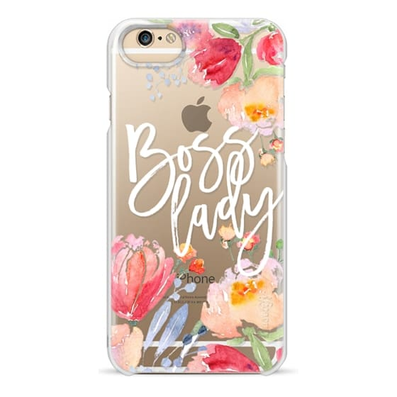 iPhone 6 Cases - Boss Lady Watercolor Floral