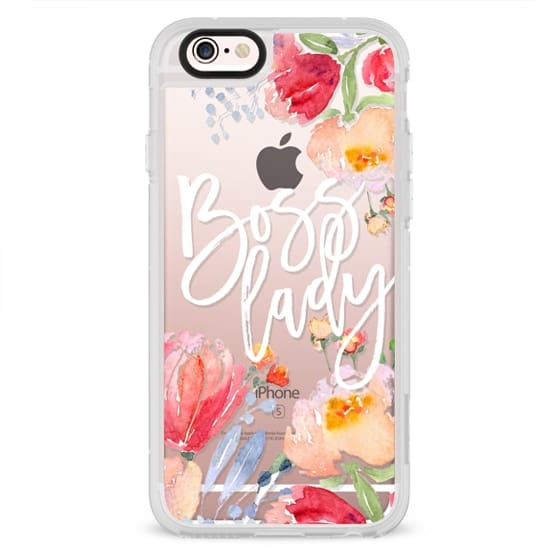 iPhone 6s Cases - Boss Lady Watercolor Floral