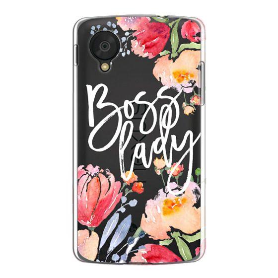 Nexus 5 Cases - Boss Lady Watercolor Floral