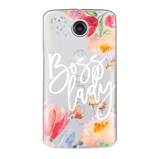 Nexus 6 Cases - Boss Lady Watercolor Floral