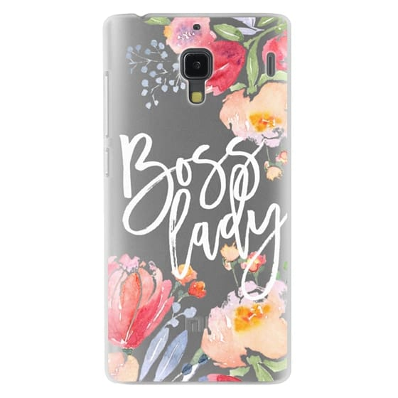 Redmi 1s Cases - Boss Lady Watercolor Floral
